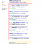 Top 10 for only one domain in Google SERP