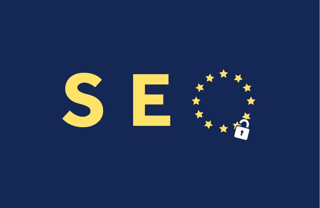 SEO with EU logo