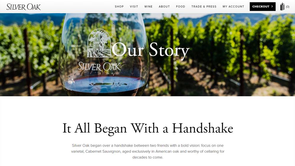 silveroak homepage