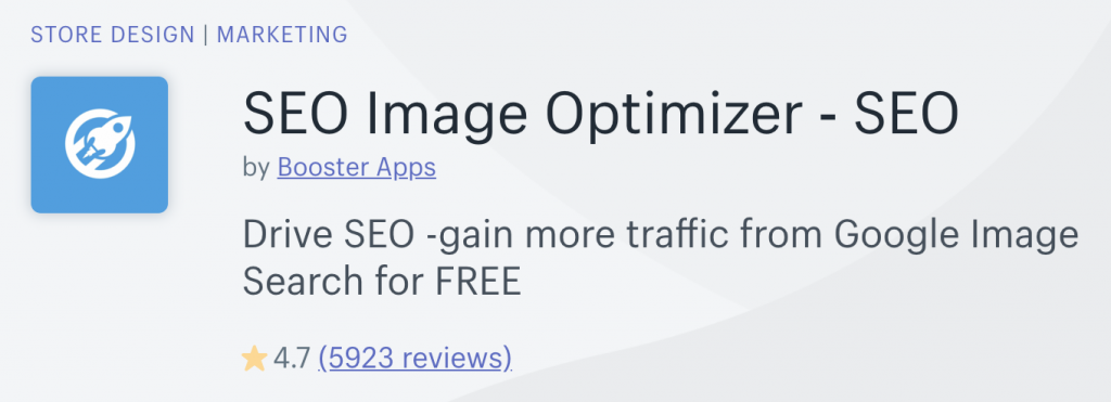 SEO Image Optimizer Shopify