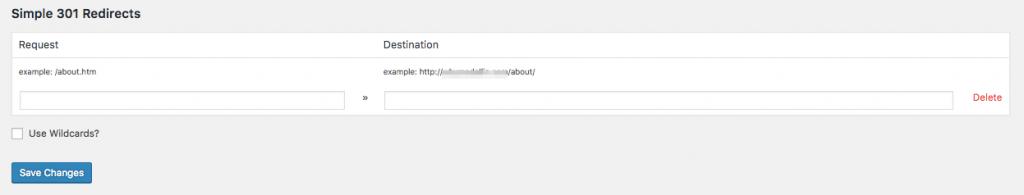 301 redirects broken links