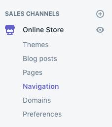 redirect broken links in shopify