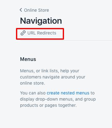 URL redirects broken links