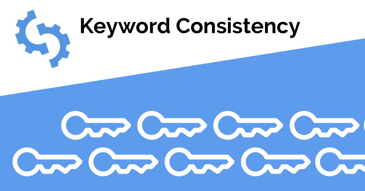 keyword consistency seoptimer guide