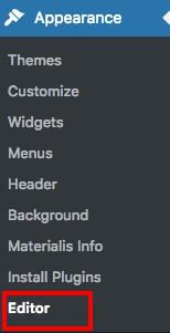add site tile wordpress