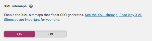 how to enable sitemap wordpress
