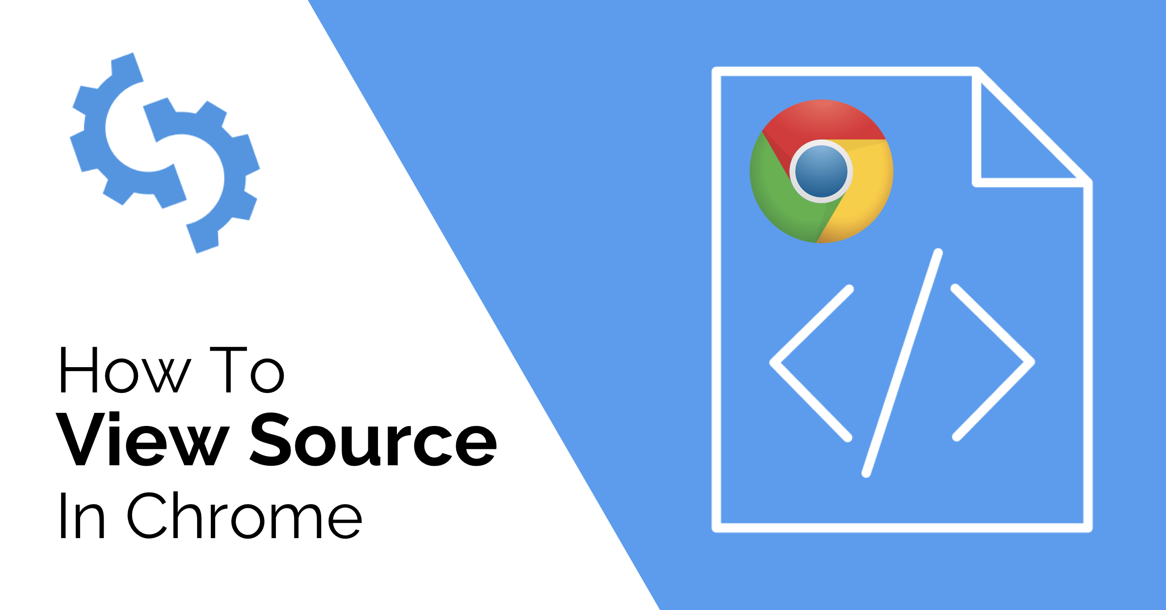 How To View Html Source In Chrome And Why Seoptimer