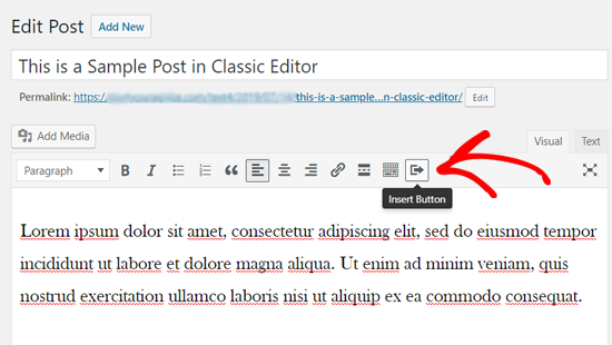 using plugin to add read more button