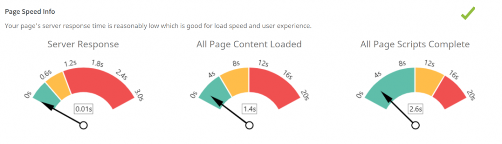 page load time seoptimer