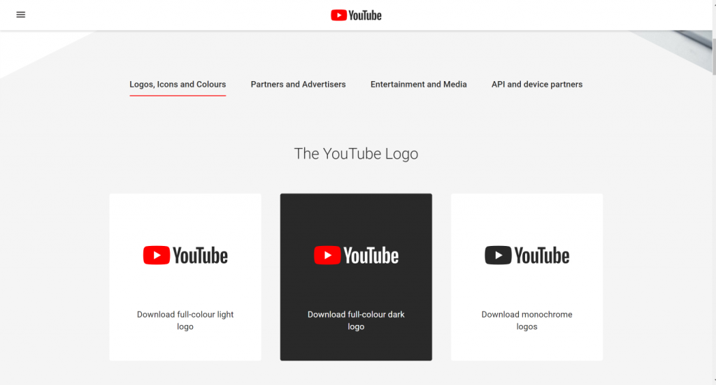 YouTube Brand Resource