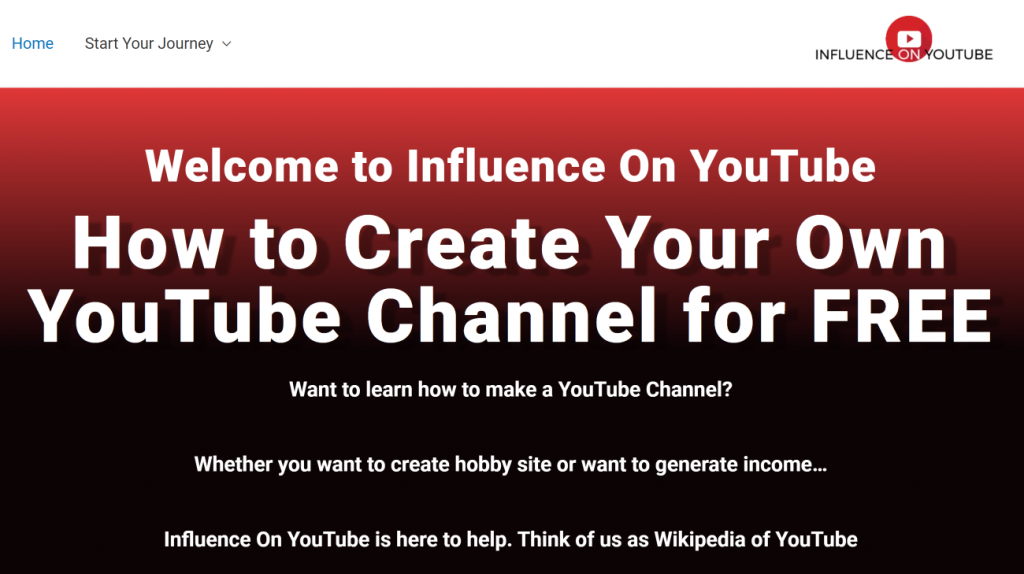 Influence on YouTube