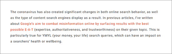Search behavior is changing