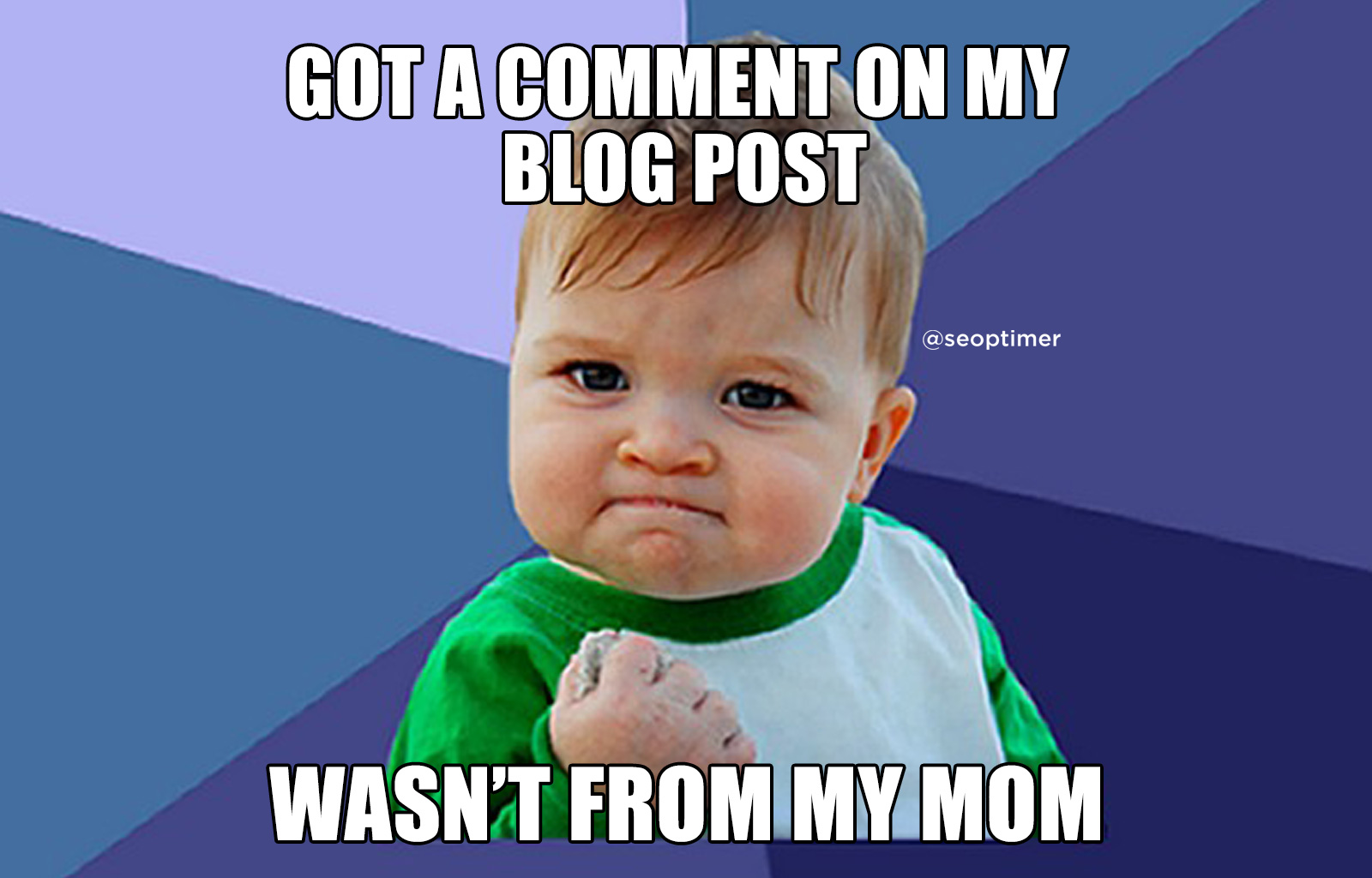 Comment on blog