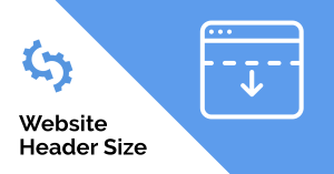 Website Header Size