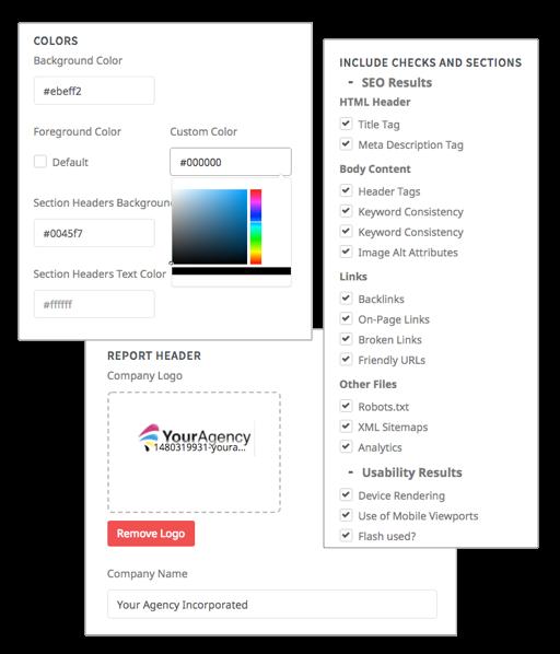 Report customizations