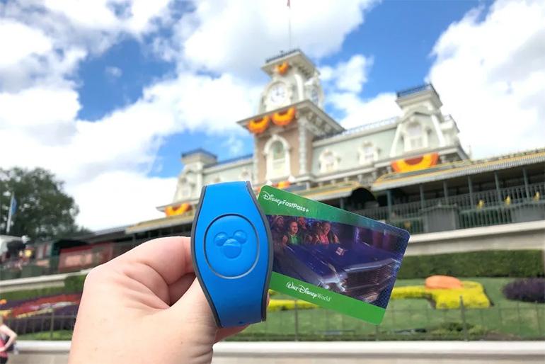 Disney World MagicBand