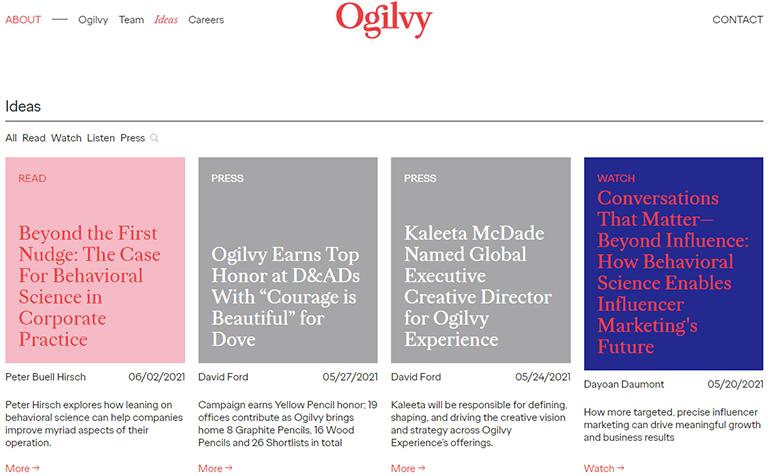 Ogilvy Ideas
