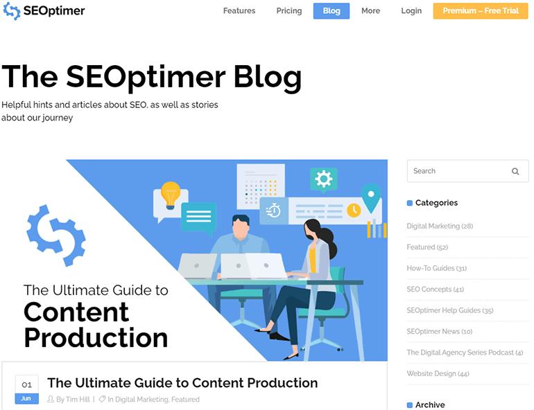 SEOptimer Blog