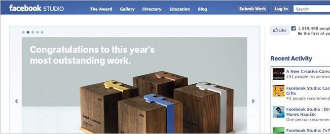 Facebook Studio: un lugar para inspirarse, mostrar tu trabajo de marketing en la red y aprender de los maestros