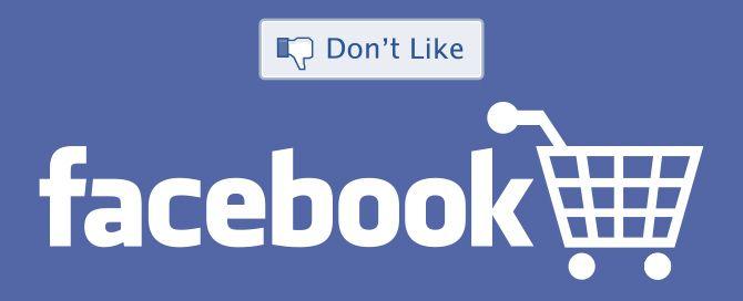 """Los usuarios dicen """"unlike"""" al comercio en Facebook (F-commerce)"""