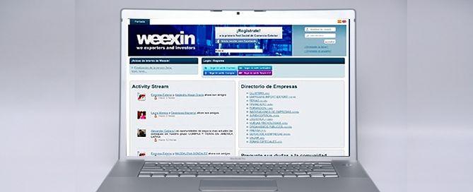 Weexin, una red social para internacionalizar tu pyme