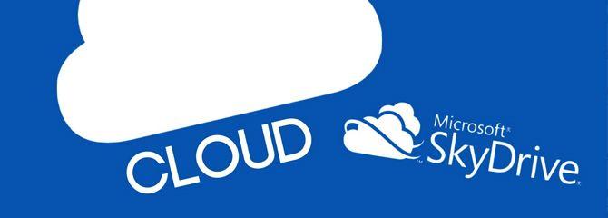 SkyDrive el disco duro en la Nube de Microsoft