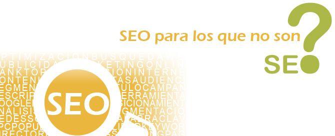 """Ebook gratuito """"SEO para los que no son SEO"""""""