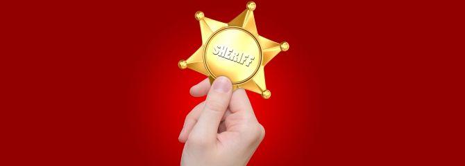 Tu tweet puede despertar al sheriff 20