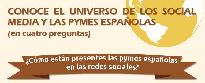 Infografía el universo de las pymes y las redes sociales