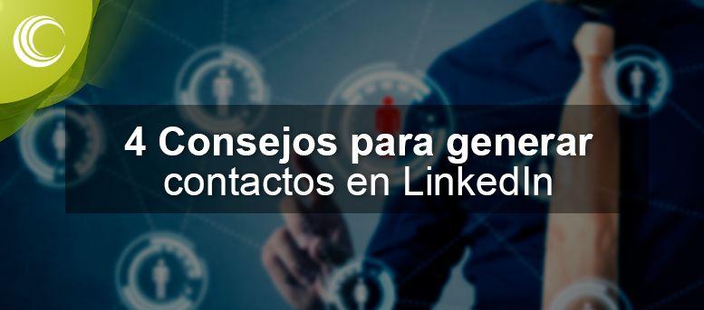 consejos generar contactos linkedin