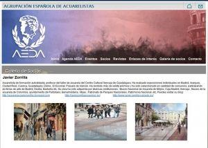 Segunda página interior web AEDA