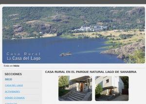 Página interior web Casa Rural