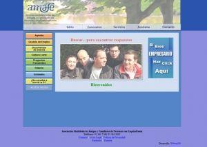 Página interior web Amafe