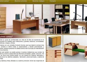 Página interior web HC Mobiliario