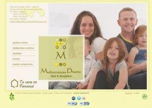 Página inicio web Mediterranean Dreams