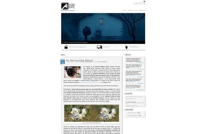 Pagina web Aitor Aspe