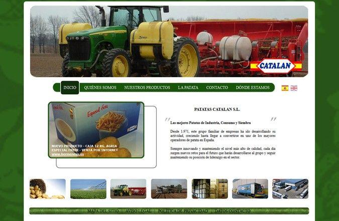 Segunda página interior web Patatas Catalán