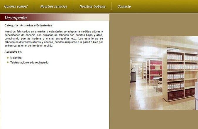 Segunda página interior web HC Mobiliario