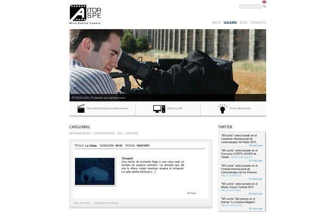 Segunda página interior web Aitor Aspe