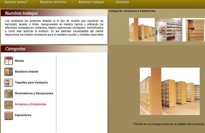 Tercera página interior web HC Mobiliario