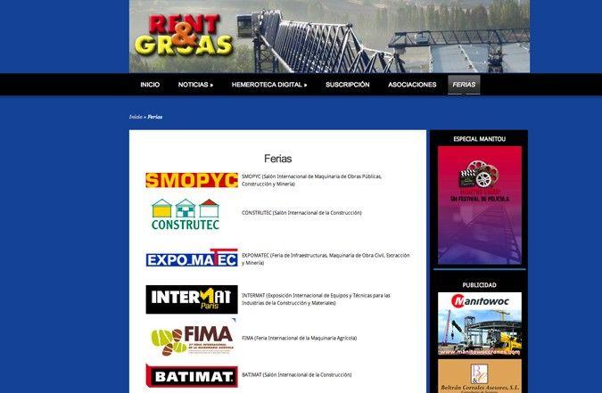 Tercera página interior web rent & gruas