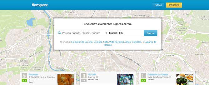 Razones para estar en Foursquare