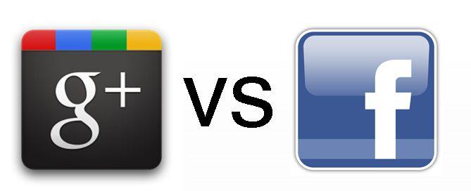 Google + vs Facebook