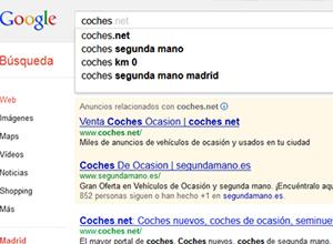 sugerencias de búsqueda de palabras clave
