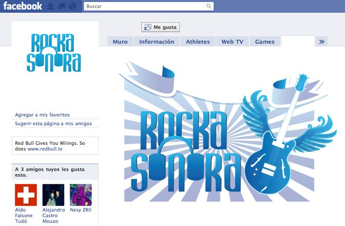 Diseño perfil Facebook Rocka Sonora