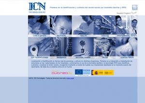 Página interior web ICN