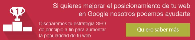 Ver servicio posicionamiento natural SEO de tu web