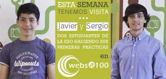 Sergio y Javier en Websa100
