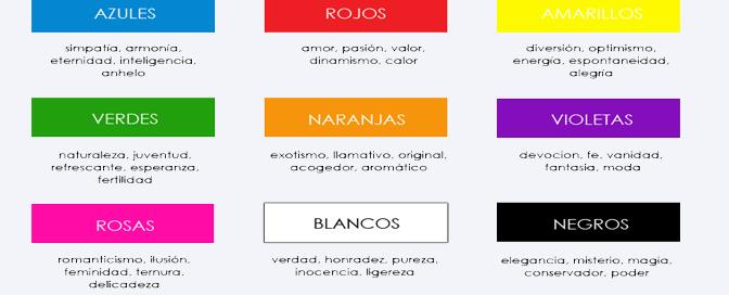 Psicología de los colores para diseñar logotipos para empresas