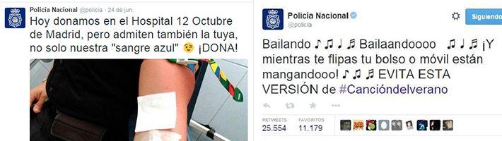 Captura tuiteros Policia